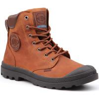 Čevlji  Moški Polškornji Palladium Manufacture Pampa Cuff WP Lux 73231-733-M brown