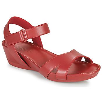 Čevlji  Ženske Sandali & Odprti čevlji Camper Micro Rdeča