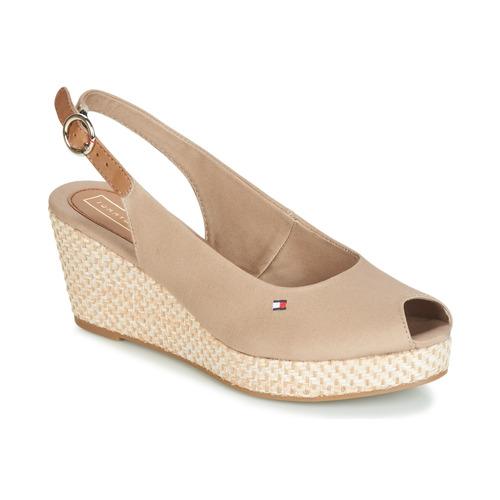 Čevlji  Ženske Sandali & Odprti čevlji Tommy Hilfiger ELBA 39D2 Bež