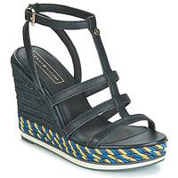 Čevlji  Ženske Sandali & Odprti čevlji Tommy Hilfiger VANCOUVER 7A Modra