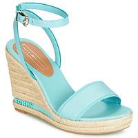 Čevlji  Ženske Sandali & Odprti čevlji Tommy Hilfiger ELENA 78C Modra / Nebeško modra
