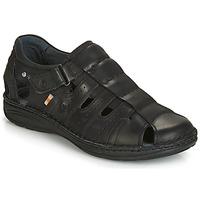 Čevlji  Moški Sandali & Odprti čevlji Casual Attitude ZIRONDEL Črna