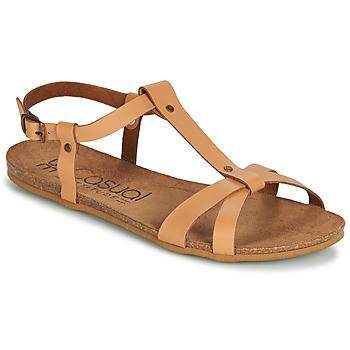 Čevlji  Ženske Sandali & Odprti čevlji Casual Attitude JALIYAXE Kamel