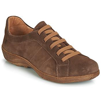 Čevlji  Moški Čevlji Derby Casual Attitude JALIYAFE Kostanjeva