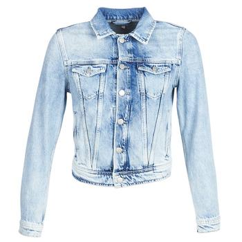 Oblačila Ženske Jeans jakne Pepe jeans CORE Modra / Svetla / Md0