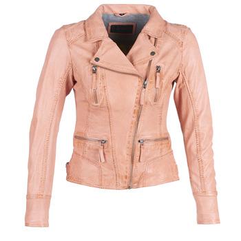 Oblačila Ženske Usnjene jakne & Sintetične jakne Oakwood CAMERA Breskev