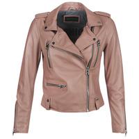 Oblačila Ženske Usnjene jakne & Sintetične jakne Oakwood NIGHT Old / Rožnata