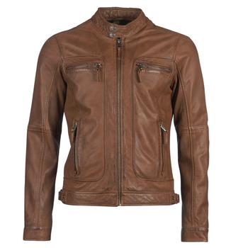 Oblačila Moški Usnjene jakne & Sintetične jakne Oakwood CASEY Cognac