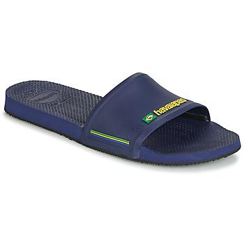 Čevlji  Moški Natikači Havaianas SLIDE BRASIL Modra