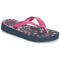 Čevlji  Deklice Japonke Havaianas KIDS FLORES Rožnata