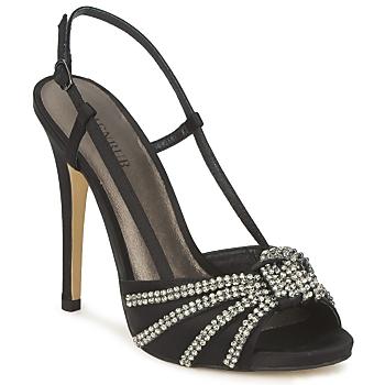Čevlji  Ženske Sandali & Odprti čevlji Menbur ACER Črna