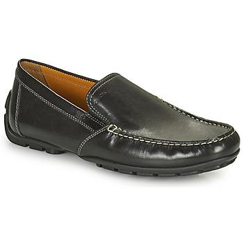 Čevlji  Moški Mokasini Geox MONET Črna