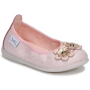 Čevlji  Deklice Balerinke Citrouille et Compagnie JATAMAL Rožnata