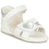 Čevlji  Deklice Sandali & Odprti čevlji Citrouille et Compagnie JAFALGA Bela