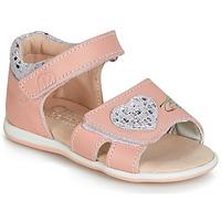 Čevlji  Deklice Sandali & Odprti čevlji Citrouille et Compagnie JAFALGA Rožnata