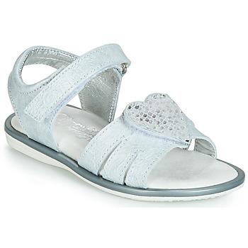 Čevlji  Deklice Sandali & Odprti čevlji Citrouille et Compagnie JAFILOUTE Siva