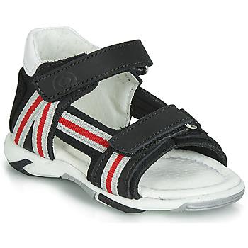 Čevlji  Dečki Sandali & Odprti čevlji Citrouille et Compagnie JATILETTE Črna