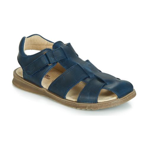 Čevlji  Dečki Sandali & Odprti čevlji Citrouille et Compagnie JALIDOU Modra