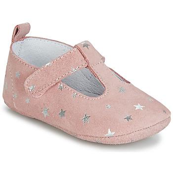 Čevlji  Deklice Nogavice Citrouille et Compagnie JARI Rožnata