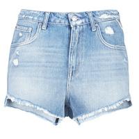 Oblačila Ženske Kratke hlače & Bermuda Replay PABLE Modra