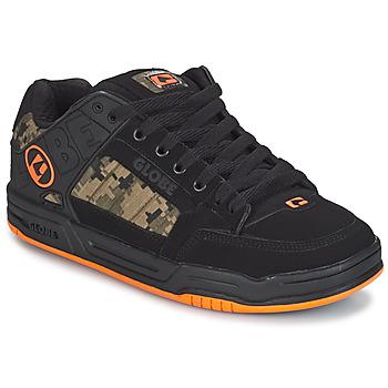 Čevlji  Moški Nizke superge Globe TILT Črna / Oranžna