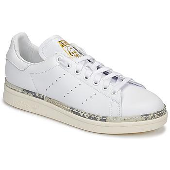 Čevlji  Ženske Nizke superge adidas Originals STAN SMITH NEW BOLD Bela