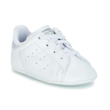 Čevlji  Deklice Nizke superge adidas Originals STAN SMITH CRIB Bela