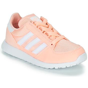 Čevlji  Deklice Nizke superge adidas Originals OREGON Rožnata