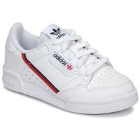 Čevlji  Otroci Nizke superge adidas Originals CONTINENTAL 80 C Bela