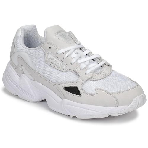 Čevlji  Ženske Nizke superge adidas Originals FALCON W Bela