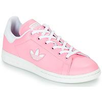 Čevlji  Deklice Nizke superge adidas Originals STAN SMITH J Rožnata