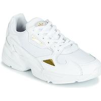 Čevlji  Ženske Nizke superge adidas Originals FALCON W Bela / Zlata