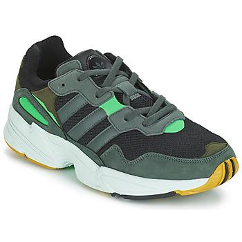 Čevlji  Moški Nizke superge adidas Originals YUNG 96 Siva / Zelena