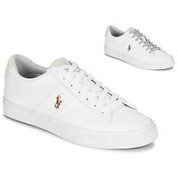 Čevlji  Moški Nizke superge Polo Ralph Lauren SAYER Bela