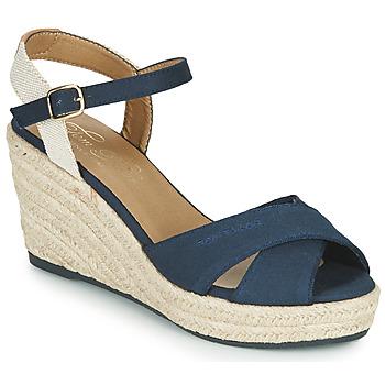 Čevlji  Ženske Sandali & Odprti čevlji Tom Tailor 6990101-NAVY Modra