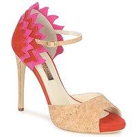 Čevlji  Ženske Sandali & Odprti čevlji Rupert Sanderson FLAMANTE Rdeča / Črna