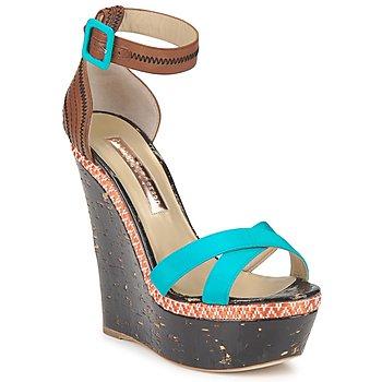 Čevlji  Ženske Sandali & Odprti čevlji Rupert Sanderson NISSA Modra