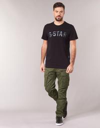 Oblačila Moški Hlače cargo G-Star Raw ROVIC ZIP 3D STRAIGHT TAPERED Kaki