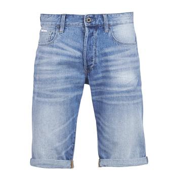 Oblačila Moški Kratke hlače & Bermuda G-Star Raw 3302 12 Modra / Svetla / Vintage