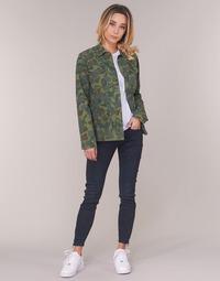 Oblačila Ženske Jeans skinny G-Star Raw LYNN ZIP MID SKINNY ANKLE Modra / Tmavá / Vintage / Cobler