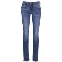 Oblačila Ženske Jeans straight G-Star Raw MIDGE SADDLE MID STRAIGHT Modra / Indigo modra / Vintage