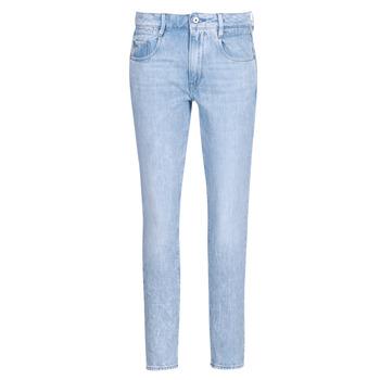 Oblačila Ženske Jeans straight G-Star Raw RADAR MID BOYFRIEND TAPERED Modra / Svetla / Sepraná