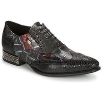 Čevlji  Moški Čevlji Richelieu New Rock SALSO Črna