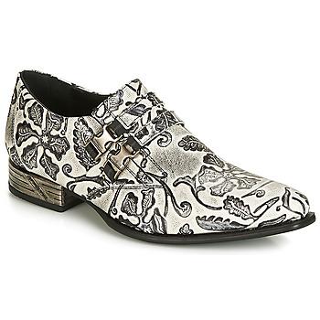 Čevlji  Moški Čevlji Richelieu New Rock SALSO Črna / Bela