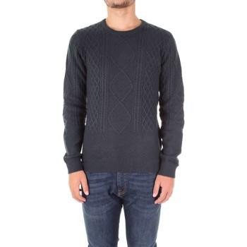 Oblačila Moški Puloverji Fred Mello FM17W54MG Blu