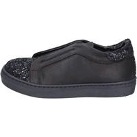 Čevlji  Deklice Slips on Holalà BT357 Črna