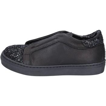 Čevlji  Deklice Slips on Holalà Superge BT357 Črna