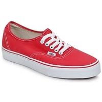 Čevlji  Nizke superge Vans AUTHENTIC Rdeča