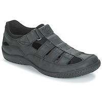 Čevlji  Moški Sandali & Odprti čevlji Panama Jack MERIDIAN Črna