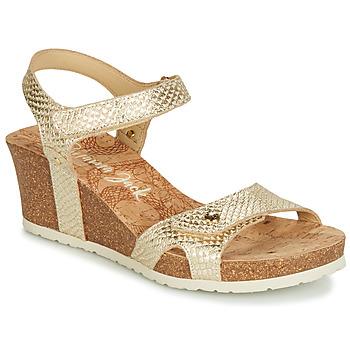 Čevlji  Ženske Sandali & Odprti čevlji Panama Jack JULIA Zlata